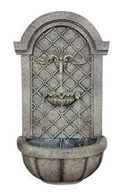 amazon com the manchester outdoor wall fountain florentine