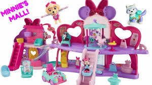 Minnie Mouse Toy Box Learn Colors With Minnie Mouse Fabulous Shopping Mall Paw Patrol