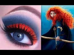 disney u0027s brave merida makeup tutorial