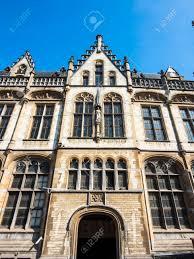 bureau de poste etienne l ancien bureau de poste dans le style néo gothique après les plans