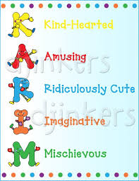 cute clip art alphabet characters by dj inkers dj inkers