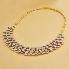 diamonds necklace photos images Caspian diamond necklace at rs 1035376 necklace heere ka haar jpg