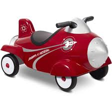 radio flyer retro rocket ride on with lights and sounds walmart com