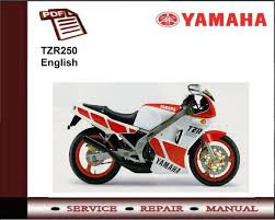 yamaha tzr250 tzr 250 workshop service repair manual ebay