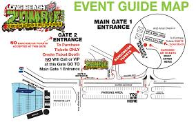 Long Beach Ca Map Directions Long Beach Zombie Fest