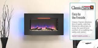Comfort Flame Fireplace Classic Flame Wayfair