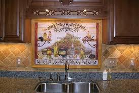 italian tile backsplash kitchen tiles murals ideas kitchen mural