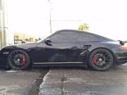 porsche coupe black fs 2007 997 turbo coupe black on black rennlist porsche
