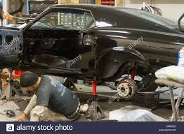 mustang auto shop mustang auto shop stock photo royalty free image 67309156