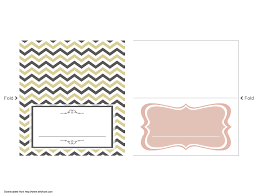 wedding place cards template card place card template