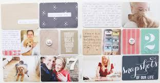 Project Life Wedding Album Ali Edwards Design Inc Blog Katie U0027s Project Life 2014 Weeks