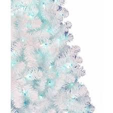 White Christmas Tree With Blue Decorations Holiday Time Pre Lit 6 5 U0027 Madison Pine Artificial Christmas Tree