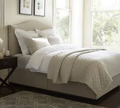 Pottery Barn Platform Bed Pottery Barn Best Selling Upholstered Beds Sale Save Up To 30 Your