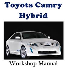 toyota camry hybrid workshop service repair manual on cd the