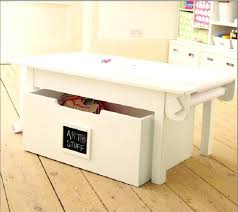 creative storage ideas for small kitchens table with storage activity table with storage creative