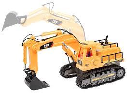 amazon com top race 7 channel full functional rc excavator