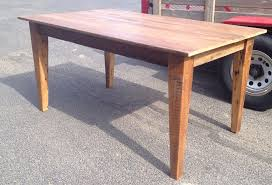 handmade dining room tables home fence row furniture