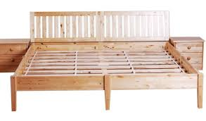Bed Reclaimed Wood Floor King Size Platform Bed Frame With