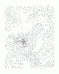 connect dots printable the hard coloring impressive dot printables