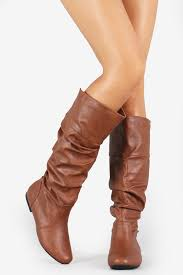s boots taupe slouchy knee high flat boots taupe products knee