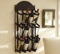 vintners wall mount wine rack contemporary wine racks