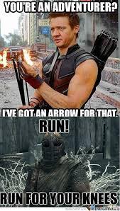 Hawkeye Meme - rmx hawkeye doesnt like skyrim by strijer987 meme center