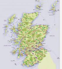 map of scotland and maps of scotland free printable maps