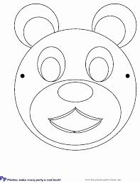 teddy bear templates coloring home