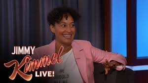 tracee ellis ross didn u0027t watch anthony anderson guest host kimmel