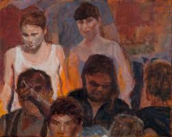 peter hobden u0027s painting adventures people in a crowd