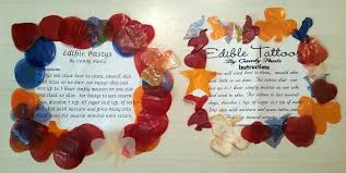 edible pasties edible pasties free edible tattoos assorted flavors and shapes