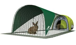 Rabbit Hutch With Large Run Eglu Classic Rabbit Hutch Rabbit House For Two Rabbits