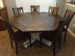 diy kitchen table and chairs survival octagon kitchen table lifetime ana white dining room diy