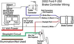 wire diagram for installing a voyager brake controller on a 2002