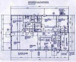 floor plan blueprint habitat project floor plan