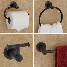 Oil Rubbed Bronze Bathroom Accessory Sets by Skylark 4 Piece Bathroom Accessory Set Bathroom