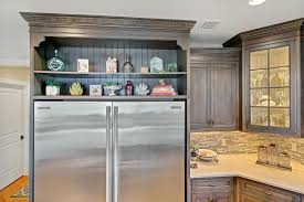 Kitchen Cabinets In Nj Driftwood With Glaze Large Kitchen Point Pleasant New Jersey By