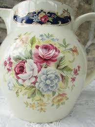 vintage china vintage china jug staffordshire ironstone jug