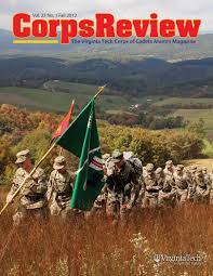 corps review magazine fall 2012 by virginia tech university