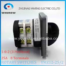 aliexpress com buy rotary switch knob 3 position ymz12 25 2