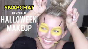 Cute Halloween Makeup Tutorial by Snapchat Bumblebee Filter Makeup Tutorial With Miss Teen Usa 2016