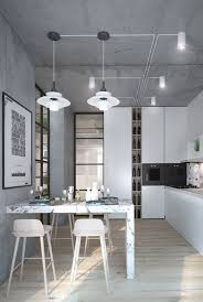 inspiring homes with concrete ceilings and wood floors idolza