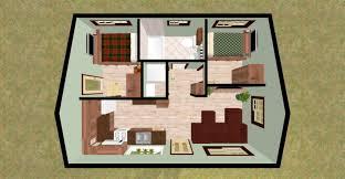 green plans tiny house floorplans tiny modern cottage home plan