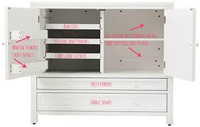 Craft Storage Cabinet Martha Stewart Living Craft Space Design Improvised