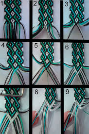 bracelet designs with string images Friendship bracelet tutorial 1 by bebe1221 on jpg