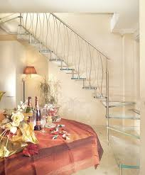 Banister Decor Stainless Steel Railing With Bars Indoor For Stairs Decor