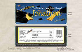 college graduation favors high school graduation party ideas chocolate bar wrappers