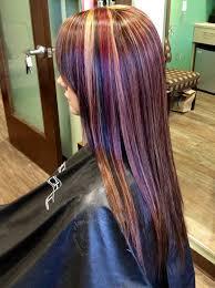hair foils styles pictures red blonde dark foil hair ideas pinterest red blonde