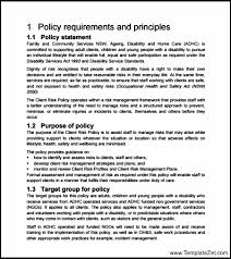 policy and procedure template spa human resources management