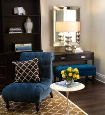 Best Coordinate Navy Blue Accent Chair In Your Room Home Design - Blue accent chairs for living room